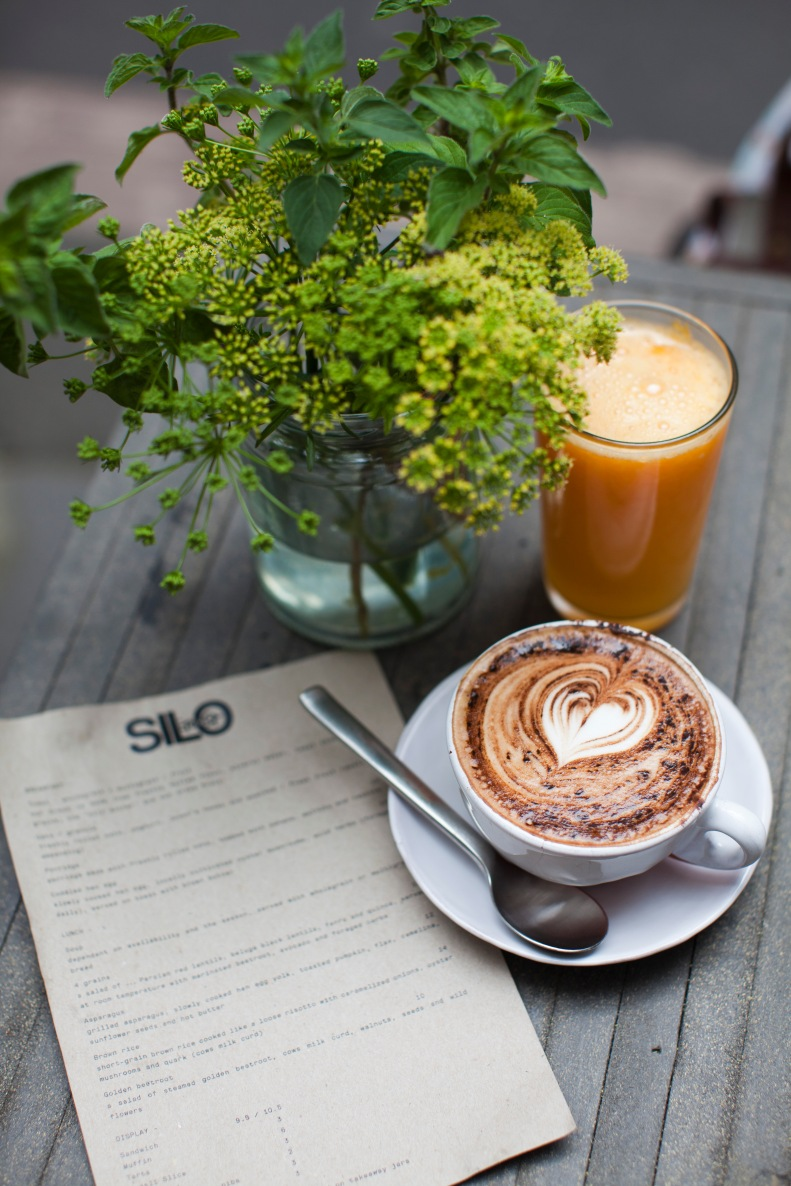 beautifully made fresh juices & heart-warming coffee