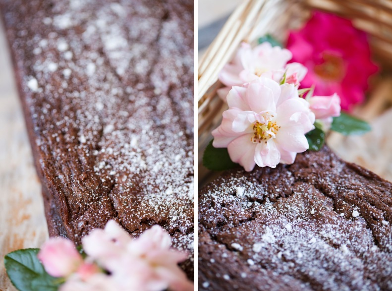 imagine biting into rich chocolate flavours bursting w/ the fragrance of lush roses