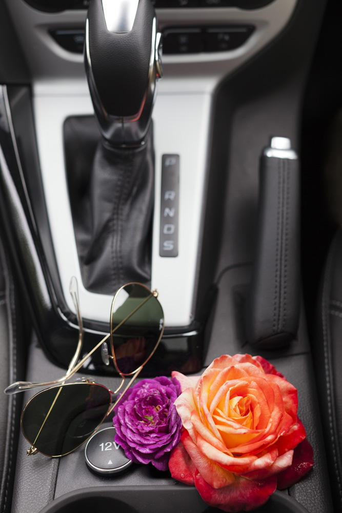 other features include the futuristic bi-xenon headlights, a swanky sunroof, convenient sat-nav & even a place to keep your flowers