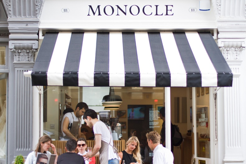 monocle worked w/ a team of japanese architects to physically reproduce their trademark amalgamation of trendy, worldly lifestyle concepts