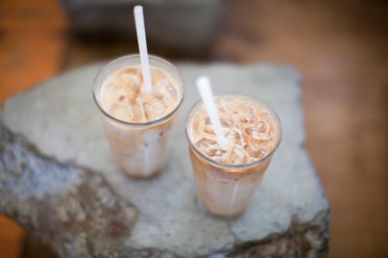 maybe cool off w/ their ice-cold coffee before you brazenly step back into the familiar heat of the australian summer sun - good luck!