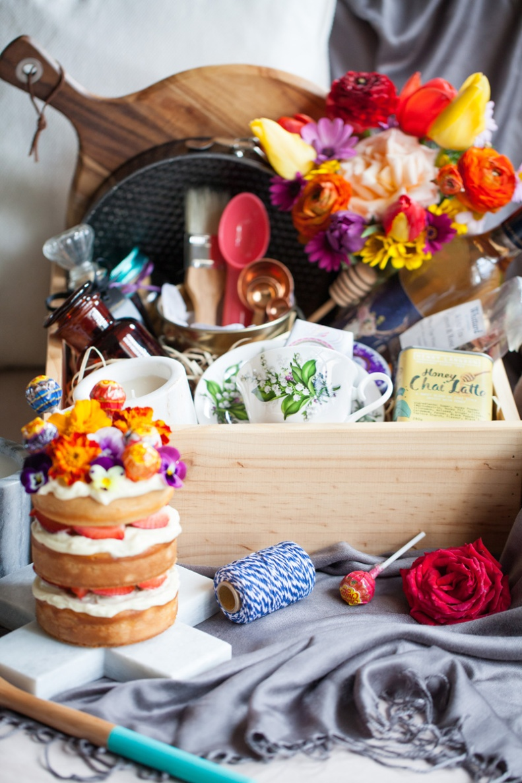 milk, chai & honey | cake & a curated gift box