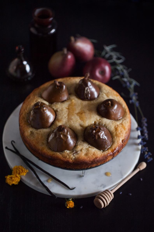 Cake & Wildflour | Whole D'Anjour Pear + Maple Cake 05