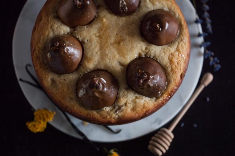 Cake & Wildflour | Whole D'Anjour Pear + Maple Cake 06