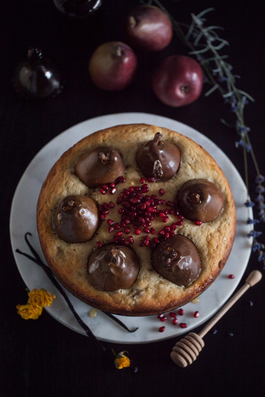 Cake & Wildflour | Whole D'Anjour Pear + Maple Cake 07