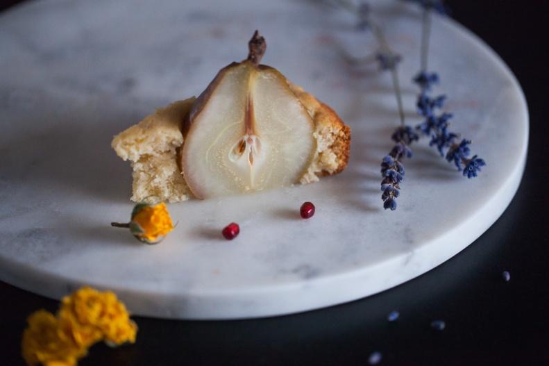Cake & Wildflour | Whole D'Anjour Pear + Maple Cake 09